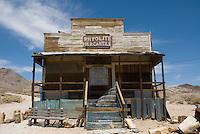 Rhyolite Mercantile, Rhyolite ghost town, Nevada