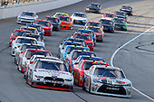 NASCAR XFINITY Series<br /> TheHouse.com 300<br /> Chicagoland Speedway, Joliet, IL USA<br /> Saturday 16 September 2017<br /> Erik Jones, NBA 2K18/GameStop Toyota Camry and Ryan Blaney, Discount Tire Ford Mustang<br /> World Copyright: Russell LaBounty<br /> LAT Images
