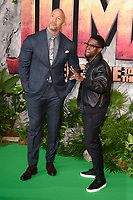 "Dwayne Johnson and Kevin Hart<br /> arriving for the ""Jumanji: Welcome to the Jungle"" premiere at the Vue West End, Leicester Square, London<br /> <br /> <br /> ©Ash Knotek  D3358  07/12/2017"