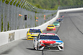 Monster Energy NASCAR Cup Series<br /> AXALTA presents the Pocono 400<br /> Pocono Raceway, Long Pond, PA USA<br /> Sunday 11 June 2017<br /> Kyle Busch, Joe Gibbs Racing, M&M's Red, White & Blue Toyota Camry, Ricky Stenhouse Jr, Roush Fenway Racing, Little Hug Ford Fusion<br /> World Copyright: Logan Whitton<br /> LAT Images<br /> ref: Digital Image 17POC1LW3163