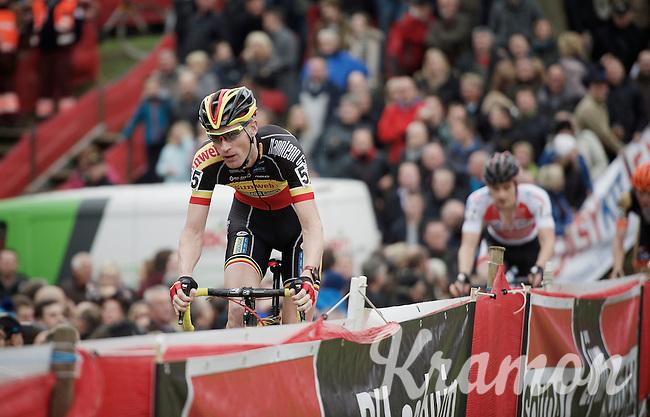 Belgian Champion Klaas Vantornout (BEL/Sunweb-Napoleon Games)<br /> <br /> Jaarmarktcross Niel 2015  Elite Men & U23 race
