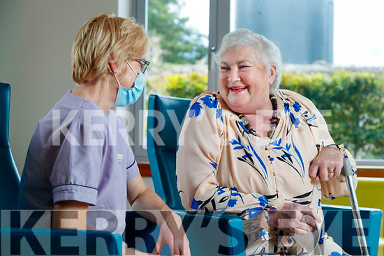 Eileen Kerrisk (Catering Assistant) and Evelyn O'Regan (Killarney), Palliative Care In Patient Unit, Tralee.