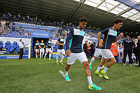 Pictured L-R: Kyle Naughton and Jack Cork of Swansea City  Saturday 27 August 2016<br />
