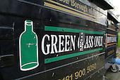 London Borough of Brent glass recycling bin