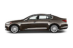 Driver side profile view of a 2015 KIA K900 Base 4 Door Sedan