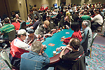 A view of the tournament poker area
