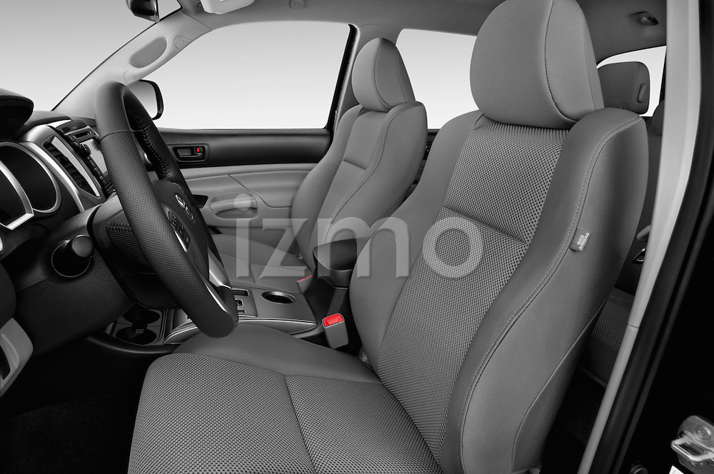 Front seat view of 2015 Toyota Tacoma PreRunner 4 Door Pick up Front Seat car photos