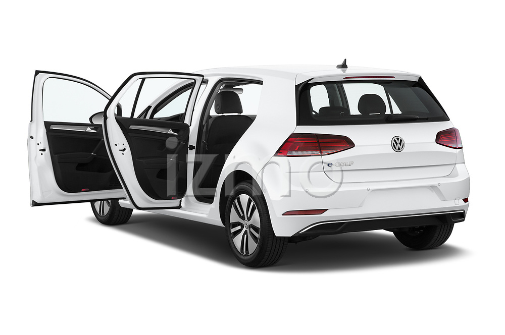 Car images close up view of a 2019 Volkswagen e-Golf Base 5 Door Hatchback doors