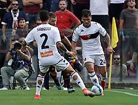 2nd October 2021; Arechi Stadium, Salerno, Italy; Serie A football, Salernitana versus Genoa : Flavio Bianchi of Genoa