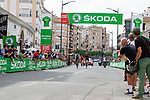 Intermediate sprint point during Stage 5 of La Vuelta d'Espana 2021, running 184.4km from Tarancón to Albacete, Spain. 18th August 2021.    <br /> Picture: Cxcling   Cyclefile<br /> <br /> All photos usage must carry mandatory copyright credit (© Cyclefile   Cxcling)