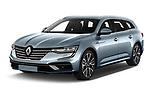 2021 Renault Talisman-Grandtour Initiale-Paris 5 Door Wagon Angular Front automotive stock photos of front three quarter view