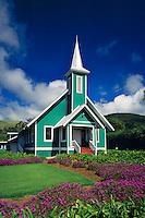 Ke Ola Mau Loa Church<br /> Waimea<br /> Island of Hawaii<br /> Hawaii