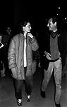RENZO ARBORE CON ISABELLA ROSSELLINI<br /> ROMA 1981