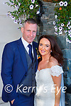 Sabrina O'Connor, Ardshaavouley Killarney daughter of Cyril and Nellie and Alan O'Connor, Allmans Terrace Killarney so of James and Vera who were married in St Marys Cathedral on Thursday Fr Kieran O'Brien officiated at the ceremony, best man was  Oliver Barrett groomsmen were Caoimhaoin O'Donoghue and Daniel o'Leary, bridesmaids were Mel Barry, Aisling Crowley and Ciara Moynihan, the reception was held in the Dromhall Hotel and the couple will reside in Milltown