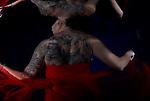 Underwater Model Anne K. Adijuwono; from Jakarta. Photographed in Tulamben; Liberty Resort; Indonesia.