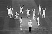 Pix:Michael Steele/SWpix...Cricket. England v New Zealand, Lords, 1992...COPYRIGHT PICTURE>>SIMON WILKINSON..England v New Zealand, Lords.