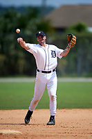 Detroit Tigers Will Maddox (29) during a minor league Spring Training game against the Houston Astros on March 30, 2016 at Tigertown in Lakeland, Florida.  (Mike Janes/Four Seam Images)