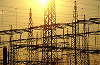 - ENEL electric distribution power station near Treviso ....- centrale elettrica di distribuzione ENEL presso Treviso