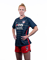 Frederick, MD - Friday, June 19, 2020: Tori Huster, Washington Spirit Media Day 2019 at Hood College.