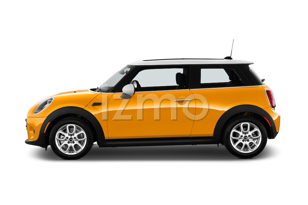 Driver side profile view of a 2014 MINI Cooper Hardtop 3 Door Hatchback