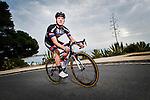 Zico Waeytens Team Giant-Alpecin training camp held around Cambrils, Spain. 26 Janiuary 2015<br /> Photo: Team Giant-Alpecin/www.newsfile.ie