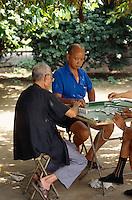 China, Kanton (Canton, Guangzhou), Mahjong-Spieler