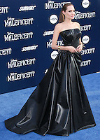 HOLLYWOOD, LOS ANGELES, CA, USA - MAY 28: Angelina Jolie at the World Premiere Of Disney's 'Maleficent' held at the El Capitan Theatre on May 28, 2014 in Hollywood, Los Angeles, California, United States. (Photo by Xavier Collin/Celebrity Monitor)