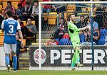 St Johnstone v Sunderland…15.07.17… McDiarmid Park… Pre-Season Friendly<br />Zander Clark reacts after saving James Vaughan's penalty<br />Picture by Graeme Hart.<br />Copyright Perthshire Picture Agency<br />Tel: 01738 623350  Mobile: 07990 594431