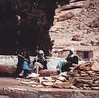 Das Katharinenkloster im Sinai, Israel 1970er Jahre. The Saint Catherine's Monastery on the Sinai Peninsula, Israel 1970s.