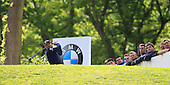 Peter HANSON (SWE) during round 2 of the 2015 BMW PGA Championship over the West Course at Wentworth, Virgina Water, London. 22/05/2015<br /> Picture Fran Caffrey, www.golffile.ie: