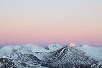 Sunrise from Mt. Bierstadt