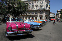 Old cars in old Havana