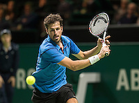 ABN AMRO World Tennis Tournament, Rotterdam, The Netherlands, 16 Februari, 2017, Robin Haase (NED)<br /> Photo: Henk Koster