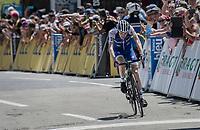 Daniel Martin (IRE/QuickStep Floors) rolling in 2nd<br /> <br /> 69th Critérium du Dauphiné 2017<br /> Stage 8: Albertville > Plateau de Solaison (115km)