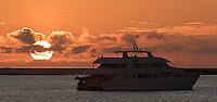 Sunrise in the Galapagos.