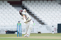 Jamie Smith, Surrey CCC drives through the covers for four during Surrey CCC vs Hampshire CCC, LV Insurance County Championship Group 2 Cricket at the Kia Oval on 1st May 2021
