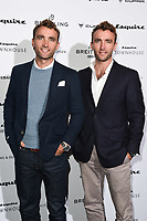 The Turner Twins<br /> arriving for the Esquire Townhouse 2019 launch party, London.<br /> <br /> ©Ash Knotek  D3528 16/10/2019