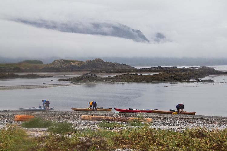 Grassy Island, wilderness coast, Kyuquot Sound, Vancouver Island, British Columbia, Canada,