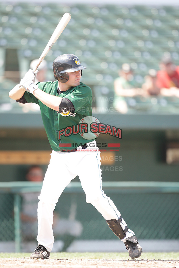August 9, 2009: A.J. Pollock of the South Bend Silver Hawks at Covelski Stadium in South Bend IN. Photo by: Chris Proctor/Four Seam Images