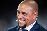 Former Real Madrid player Roberto Carlos prior to the Santiago Bernabeu Trophy 2017 match between Real Madrid and ACF Fiorentina at the Santiago Bernabeu Stadium on 23 August 2017 in Madrid, Spain. Photo by Diego Gonzalez / Power Sport Images