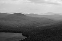 The terrain south of Little Averill lake as seen from Brousseau Mountain in the extreme north east corner of Vermont.