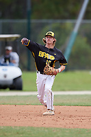 Jack Allen (10) during the WWBA World Championship at the Roger Dean Complex on October 12, 2019 in Jupiter, Florida.  Jack Allen attends Francis W. Parker High School in San Diego, CA and is Uncommitted.  (Mike Janes/Four Seam Images)
