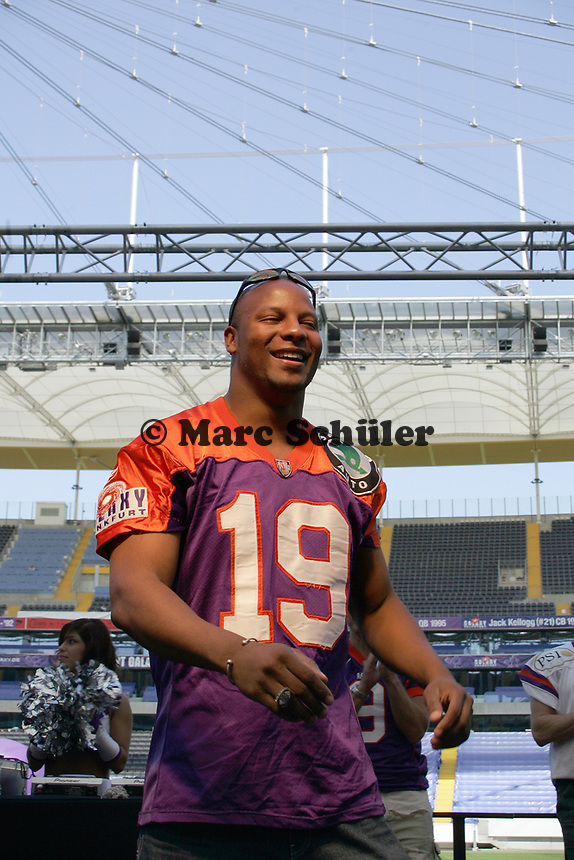 Marc Soumah (ehemaliger Wide Receiver Frankfurt Galaxy)