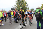 Roman Kreuziger (CZE) Mitchelton-Scott climbs the Superga for the 1st ascent during the 99th edition of Milan-Turin 2018, running 200km from Magenta Milan to Superga Basilica Turin, Italy. 10th October 2018.<br /> Picture: Eoin Clarke | Cyclefile<br /> <br /> <br /> All photos usage must carry mandatory copyright credit (© Cyclefile | Eoin Clarke)