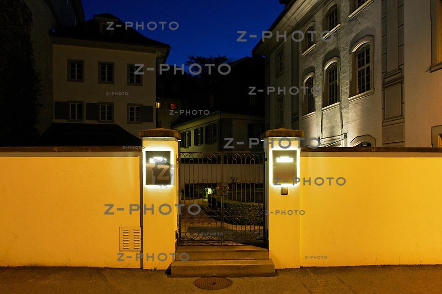 Hauptsitz der Privatbank Reichmuth & Co Privatbankiers<br /> an der Ruetligasse 1 in Luzern am 25. Juli 2011<br /> <br /> Copyright © Zvonimir Pisonic
