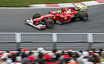 Scuderia Ferrari driver Felipe Massa of Brazil speeds his F2012 car during the F1 Grand Prix du Canada at the Circuit Gilles-Villeneuve on June 08, 2012 in Montreal, Canada. Photo by Victor Fraile / The Power of Sport Images