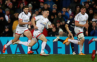 Friday 22nd November 2019   Ulster Rugby vs Clermont Auvergne<br /> <br /> John Cooney during the Heineken Champions Cup Pool 3 Round 2 match between Ulster Rugby  and Clermont Auvergne at Kingspan Stadium, Ravenhill Park, Belfast, Northern Ireland. Photo by John Dickson/DICKSONDIGITAL