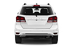 Straight rear view of 2020 Dodge Journey Crossroad 5 Door SUV Rear View  stock images