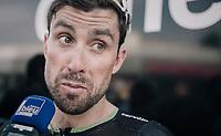 Bernhard 'Bernie' Eisel (AUT/Dimension Data) interviewed post-race<br /> <br /> 104th Tour de France 2017<br /> Stage 19 - Embrun › Salon-de-Provence (220km)
