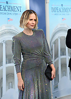 """LOS ANGELES, USA. September 02, 2021: Sarah Paulson at the premiere for FX's """"Impeachment: American Crime Story"""" at the Pacific Design Centre.<br /> Picture: Paul Smith/Featureflash"""